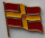 Northamptonshire County Flag Enamel Pin Badge
